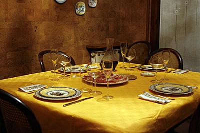 jantar com Maria