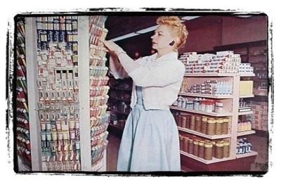 supermercado vintage