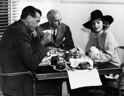 Howard Hawks with Gary Cooper and Marlene Dietrich.jpg