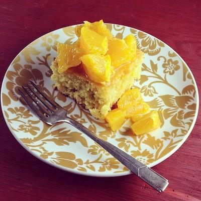 bolo de laranja e azeite