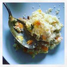 risoto de forno
