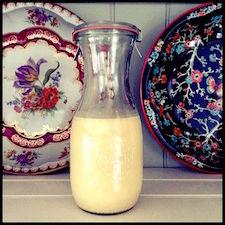 leite de abóbora