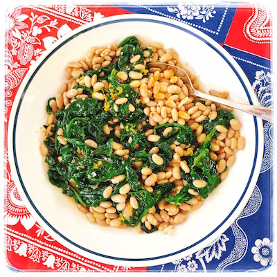 canary-beans-spinach