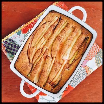 rhubarb-cake